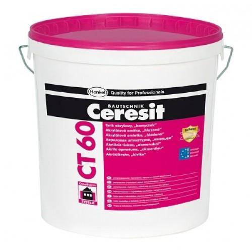Ceresit CT60 Acrylic Render 1.5 mm grain