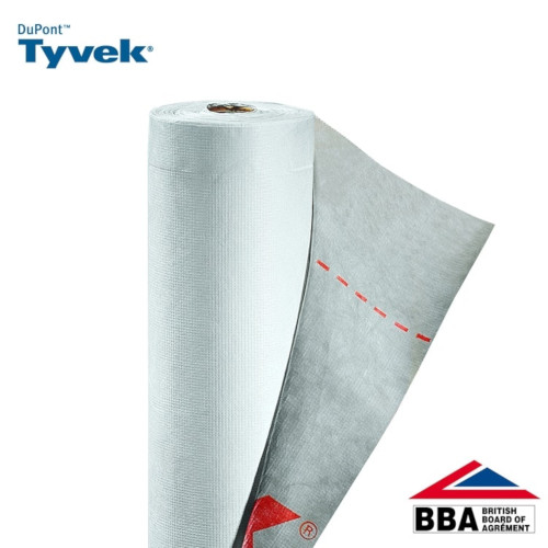 DuPont Tyvek Supro Breather Membrane Underlay 1m x 50m