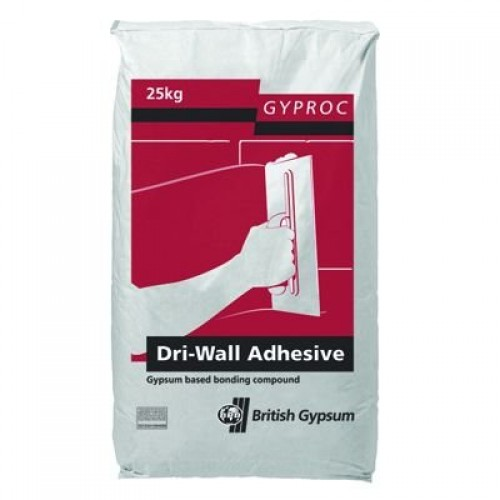 Gyproc Dry-Wall - Plasterboard Adhesive British Gypsum