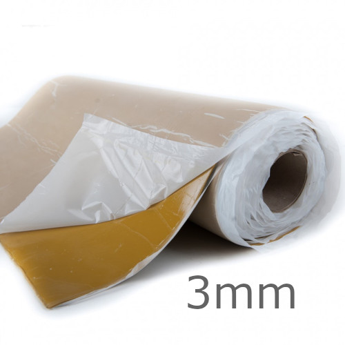 3mm TecSound SY50 Self-Adhesive Acoustic Membrane - 1.2m x 6m