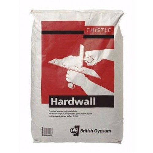 Thistle Hardwall Plaster British Gypsum