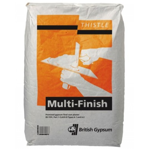 Thistle-Multifinish Plaster British Gypsum